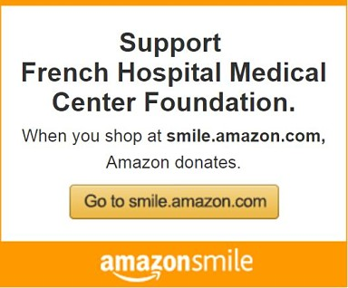 Shop on AmazonSmile to support French Hospital