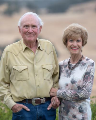Portrait of Stan and Barbara Clark