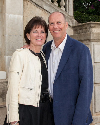 Portrait of Noreen Martin and Dr. Chris Hulburd