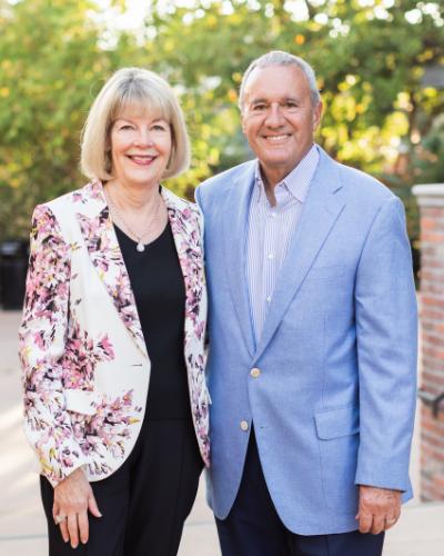 Portrait of Cheryl and Bill Swanson