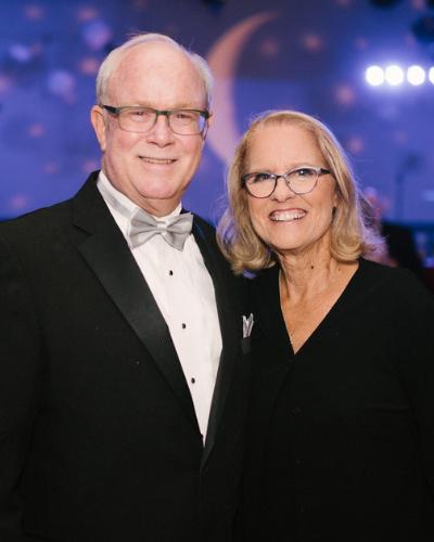 Portrait of Bob and Debbie Wacker